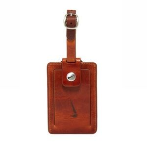 NIKE GOLF Leather Luggage Tag